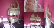 Portable crib for baby,  excellent condition